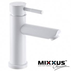 Смеситель для умывальника MIXXUS Sus-001A White (Chr-001-A), Польша (нержавеющая сталь)