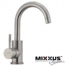 Смеситель для умывальника MIXXUS Sus 011B (Chr-011B), Польша (нержавеющая сталь)