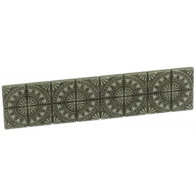 Ручка мебельная Falso Stile РК-526старое серебро светлое