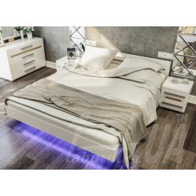 Ліжко Світ меблів Б'янко 2065х1650х880 мм
