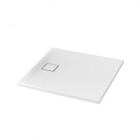 SET B 187 Душевой поддон квадратный TAKO SLIM 90X4 + сифон (VIRT)
