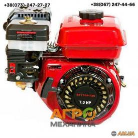 Двигатель Weima BT170F-T/20 (шлицы, вал 20 мм)
