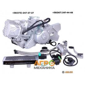 Двигатель на скутер W190 1P62FMJ X-PI (с нижним электростартером, КПП-5, масляное охлаждение)