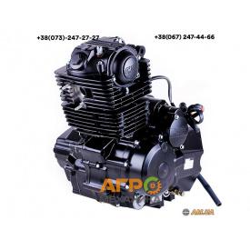 Двигатель CB 200 (163FML) (цепной привод) Черный