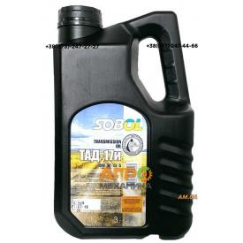 Масло трансмиссионное T-OIL ТАД-17 1,3л