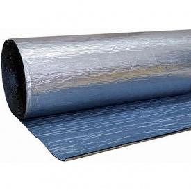 Каучук фольгированный RC ALU с клеем 10 мм рулон 10 м2