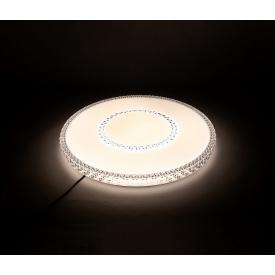 Светодиодная люстра с пультом Z-Light 75Вт 3000/4500/6500К с пультом 500х500х55мм 20-25кв/м