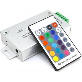 Контролер для RGB стрічки OEM 24А-RF-24 кнопок