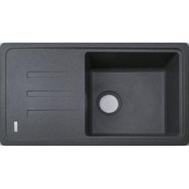 Кухонна мийка Adamant SLIM LONG 780х435х200, з сифоном, 04 сірий