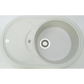 Кухонна мийка Adamant SHELL 775х495х200, з сифоном, 10 old stone