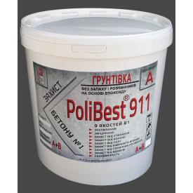 Пропитка PoliBest 911 эпоксидная для упрочнения бетонных полов и цементных стяжек комплекс А+В 9 кг