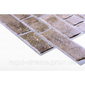 Панель ПВХ Регул Кирпич ретро коричневый 0,4х495х951мм