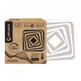 LED светильник VELMAX V-CL-POKER 120W smart 3000-6500K 8500Lm пульт ДУ