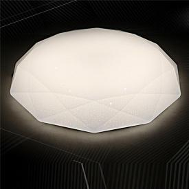 Светодиодная люстра с пультом управления Crystal 50Вт 3000-6000К 400х70мм