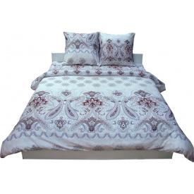 Комплект постельного белья Руно сатин 3602 Grey двуспальный