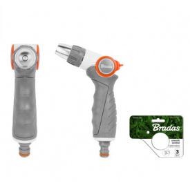 Пистолет для полива регулируемый BRADAS WHITE LINE металлический (WL-EN40M)