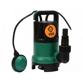 Насос дренажный для грязной воды FLO сетевой 550Вт 11500 л/ч (79772)