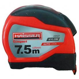 Рулетка HAISSER Compact 7,5мx25мм магнит (84383)