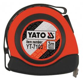 Рулетка YATO 3мx16мм (YT-7103)