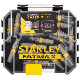 Набор бит STANLEY FatMax Torx, T25, 25 мм, 20 шт пластиковый кейс (STA88571)
