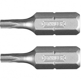 Набор бит STANLEY односторонняя, Т15, 25 мм, 2 шт (STA61061)