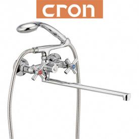 Смеситель для ванны длинный нос Cron Polo EURO (Chr-140)