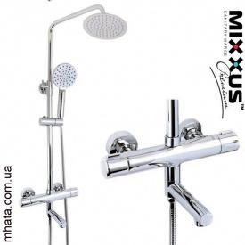 Душевая колонна Mixxus Premium Termo 009-J с термостатическим смесителем
