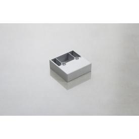 Меблева ніжка Poliplast НП-4 пластикова срібляста 20 мм