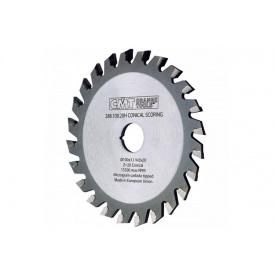 Пильный диск СМТ конический подрезной однокорпусный 120 22 24