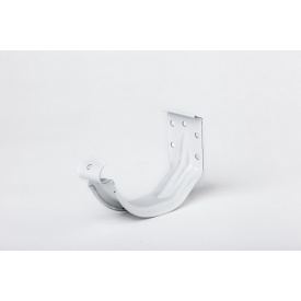 Компактный крюк желоба Plannja 125 белый