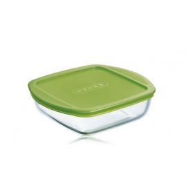 Форма Pyrex Cook&Store 20х17х55 см 1 л квадратна з кришкою
