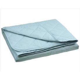 Одеяло xлопковое Руно евро полуторное голубое 155x210 см