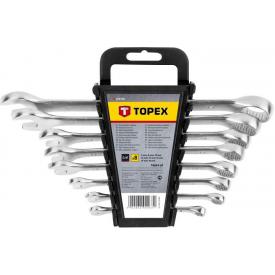 Набор ключей комбинированных TOPEX 6-19 мм 8 шт (35D756)