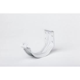 Компактный крюк желоба Plannja 150 белый