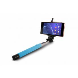 Монопод для селфи с селфи стиком со шнуром UFT SS1 light blue
