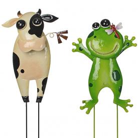 Набір садових фігурок Корівка і жаба Greenware