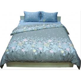 Комплект постельного белья Руно сатин 20-1304 Grey евро