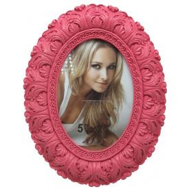 Овальна щітка Angel Gifts 13х18 см рожева (LF09541-157R)