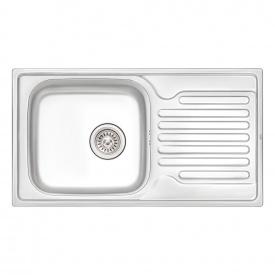 Кухонная мойка Qtap 7843 0,8 мм Satin (QT7843SAT08)