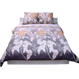 Комплект постельного белья Руно сатин 20-0234 Grey семейный