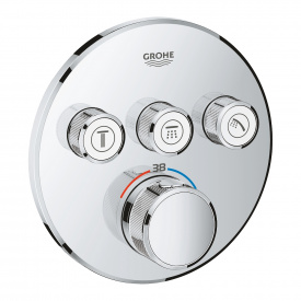 SmartControl Термостат для душу ванни з 3 кнопками накладна панель GROHE 29121000