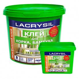 Клей д/пробки бамбука натуральних покриттів LAKRISYL (4,5кг)