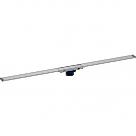 Geberit дренажный канал CleanLine20 L30-90cm полированный матовый металл 154.450.KS.1