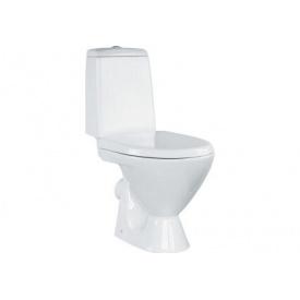 Унитаз напольный Cersanit ARKTIK 011 в комплекте с бачком 3/6 с сиденьем пропилен UN001-003