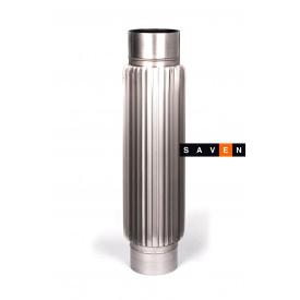 Радиатор для дымохода из нержавеющей стали 0,5 м