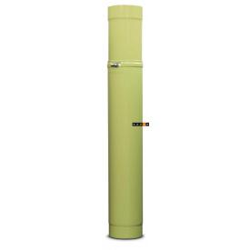 Труба для димоходу емальована сталева DOVRE регульована 0,75 м -1,15 м + хомут 150 E9