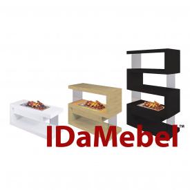 Камін портал електрокаміна DIMPLEX IDaMebel Avantgarde M без портал вогнища для Cassette 600