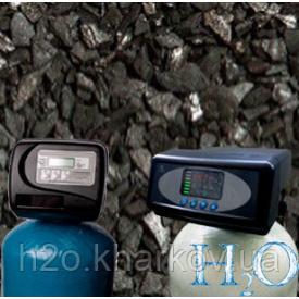 Система видалення заліза і сірководню Raifil C-1354 Gac Plus клапан Clack