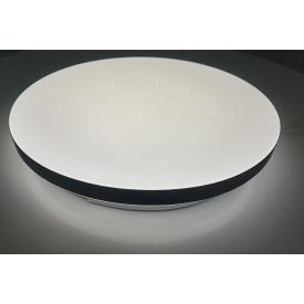 Светодиодная люстра с пультом Black Moon 50Вт 390*65мм 15кв/м