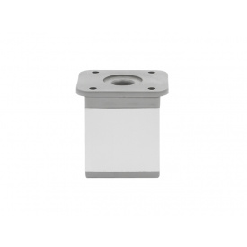 Опора регулируемая квадратная GIFF NA02 мм 50 алюминий